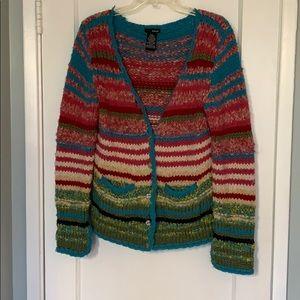 Kenzie multicolor knit sweater